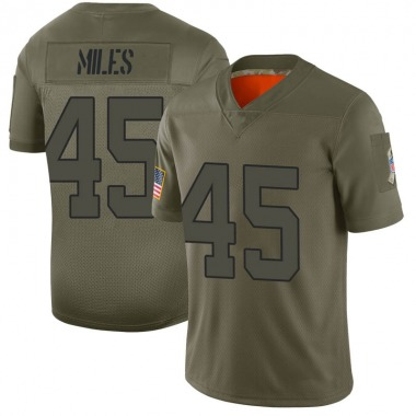 Men's Nike New York Jets Rontez Miles 2019 Salute to Service Jersey - Camo Limited