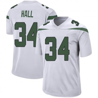 Youth Nike New York Jets Bryce Hall Spotlight Jersey - White Game