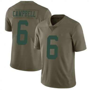 Youth Nike New York Jets George Campbell 2017 Salute to Service Jersey - Green Limited