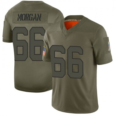 Youth Nike New York Jets Jordan Morgan 2019 Salute to Service Jersey - Camo Limited