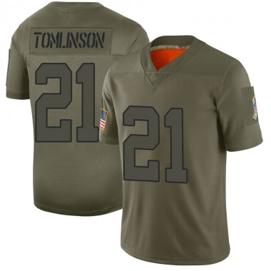 Youth Nike New York Jets LaDainian Tomlinson 2019 Salute to Service Jersey - Camo Limited