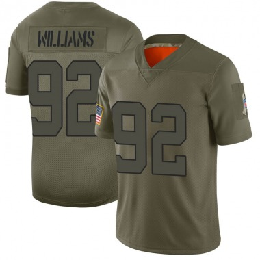 Youth Nike New York Jets Leonard Williams 2019 Salute to Service Jersey - Camo Limited