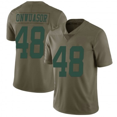 Youth Nike New York Jets Patrick Onwuasor 2017 Salute to Service Jersey - Green Limited
